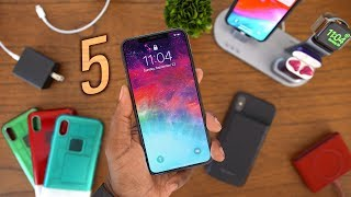 5 MUST HAVE iPhone Xs & iPhone Xs Max Accessories! (Budget Edition)