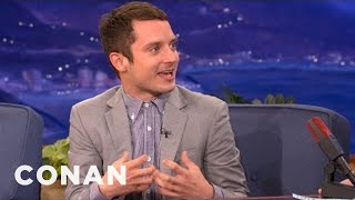 "Elijah Wood Is Crazy About ""Game Of Thrones"" - CONAN on TBS"