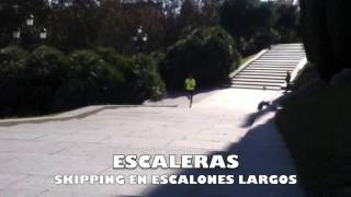 Skipping en escalones largos