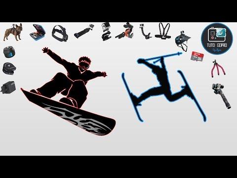 GoPro : Quels accessoires pour faire du Ski & Snowboard