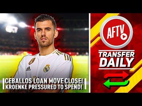 Dani Ceballos Loan Move To Arsenal Close & Kroenke Pressured To Spend!   AFTV Transfer Daily