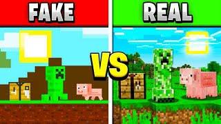 Video PLAYING FAKE MINECRAFT GAMES! FAKE vs REAL MINECRAFT! MP3, 3GP, MP4, WEBM, AVI, FLV Maret 2019