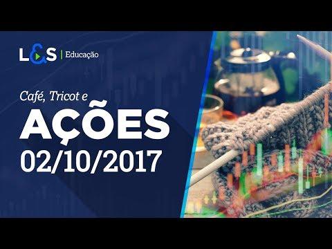 Café, Tricot e Ações  - 02/10/2017