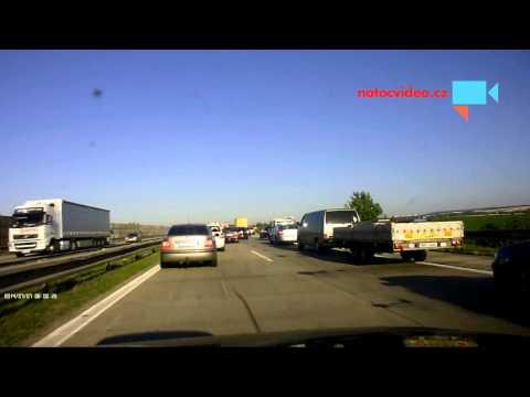 Dopravní nehoda na D1- uzavřený levý pruh