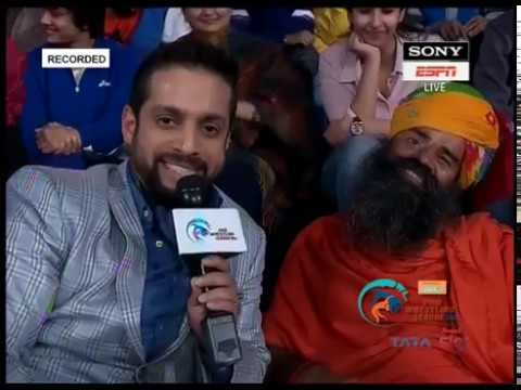 Baba Ramdev at PWL Season 2