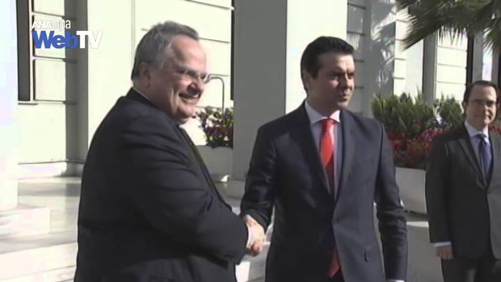 Συνάντηση ΥΠΕΞ Ν.Κοτζιά με ΥΠΕΞ πΓΔΜ Ν.Poposki
