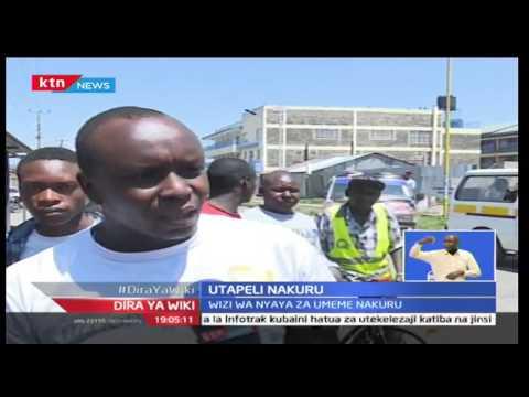 Wizi wa nyaya za Umeme katika kaunti ya Nakuru