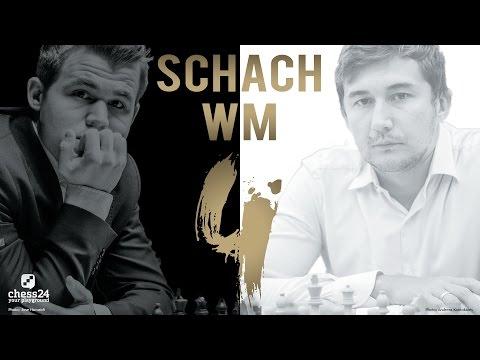 Schach WM 2016: Carlsen - Karjakin Partie 4 Schach  ...