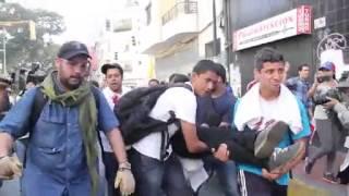 ¡LO QUE VENEZUELA NO VIO! Impactante video sobre protesta #12F en Venezuela