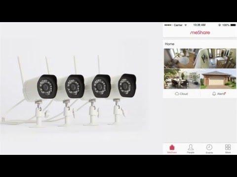 Zmodo Wireless Camera Kit Setup Tutorial