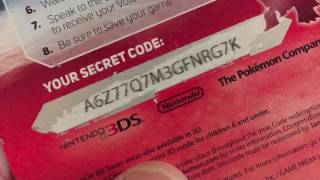 this is one of two videos of the last of our previous codes. this video includes Volcanion, Genesect, and the last of the Arceus codes.  Remember: Code only works once, First come first serve. Please if you have redeemed a code already, please give the chance to redeem to others. if you are new to our channel, please give a comment below and subscribe for a chance to win these codes. We will add your friend code; here are ours below:1092-1871-0071 JustBird3712-1133-8578 Joy