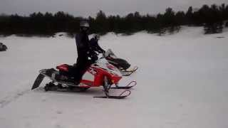 8. 2014 Polaris 600 IQR vs 2005 Arctic Cat Firecat (Speedwerx 800)