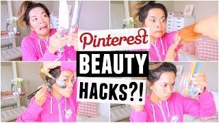 Pinterest Beauty Hacks TESTED! by ThatsHeart