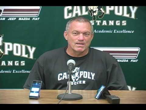 Cal Poly Women's Soccer Head Coach Alex Crozier