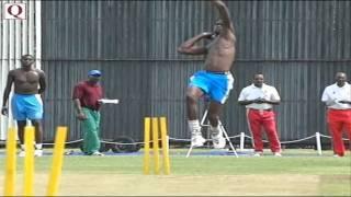 Brandon Bess - West Indies Fast Bowler.