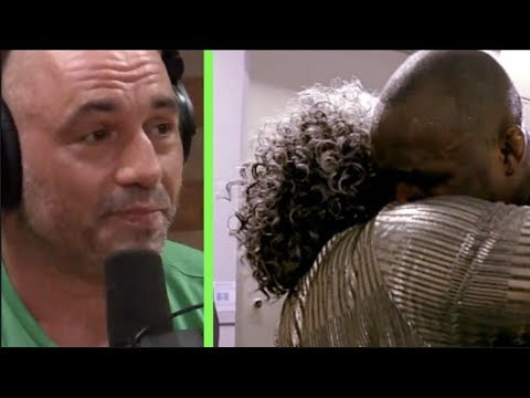 Joe Rogan Cries After Seeing Tyron Woodley's Mom Embracing Kamaru Usman
