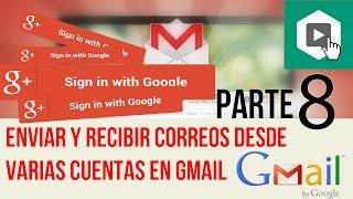 Enviar y recibir correos desde varias cuentas en gmail recibir correos desde otras cuentas en gmail.