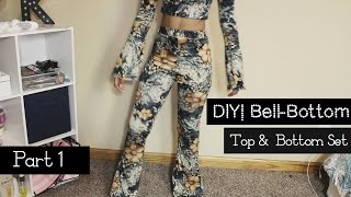 "Hello! I hope all is groovy! Here is a How to/ Tutorial/ DIY on how to make Bell-Bottom/Flare Leg Pants. I hope you enjoy this video.  Please let me know if you have any questions. Thanks for watching.  If you enjoyed this video:Please, Like & Subscribe! Fabric:Mood Fabrics""Multicolor Floral Rayon Jersey Print""2 YardsSewing Machine:Brother Project Runway Sewing Machine CE1100PRWMusic: Chef Red- Contrasthttps://soundcloud.com/fckthsindstry/chef-red-contrastSpecs:Camera: Canon Rebel t5i/700D/Kiss X7iEditing Software: Final Cut Pro & iMovie (mainly)"