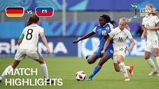 Video Germany v. Haiti - FIFA U-20 Women's World Cup France 2018 - Match 23 MP3, 3GP, MP4, WEBM, AVI, FLV November 2018