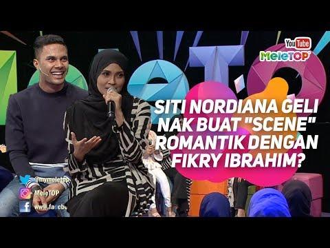 """Siti Nordiana geli nak buat """"scene"""" romantik dengan Fikry Ibrahim?   MeleTOP   Nabil & Neelofa"""