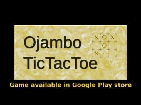 Video of Ojambo TicTacToe Pro