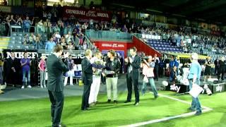 Austria Wien verabschiedet Julian Baumgartlinger (10.05.2012)