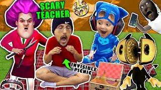 Video SCARY TEACHER GAME & the Invisible Picnic! FGTEEV finishes Bendy and the Ink Machine Chapter 5 MP3, 3GP, MP4, WEBM, AVI, FLV Desember 2018