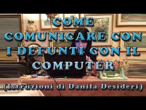 come comunicare con i defunti con il computer