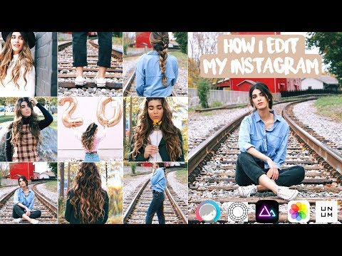 How to Edit Instagram Photos + Aesthetic Theme! | Best Editing Apps 2018