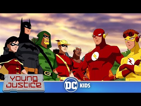 Young Justice | Today's The Day! | DC Kids