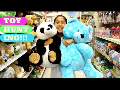 Toy Hunting Play Doh, Halloween, Shopkins, Huge Stuffed Animals  B2cutecupcakes