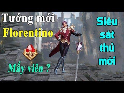 Liên quân mobile Tướng mới Florentino siêu sát thủ cơ động biến ảo | new hero Florentino AOV - Thời lượng: 11:41.