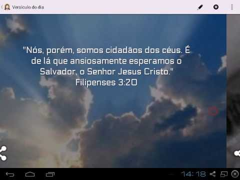 Video of Daily Verse in Portuguese