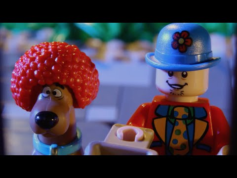 Trick and Treat - LEGO Scooby Doo - Stop Motion