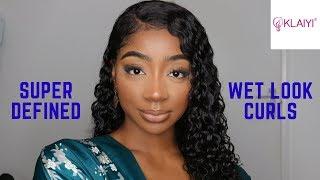 Video Super Defined Wet Look Curls + GIVEAWAY! Ft Klaiyi Hair MP3, 3GP, MP4, WEBM, AVI, FLV Agustus 2019
