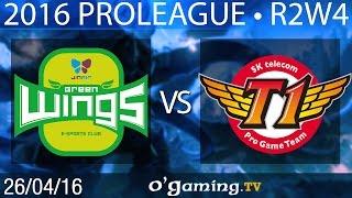 Jin Air Green Wings vs SKT T1 - 2016 Proleague - Round 2 Week 4