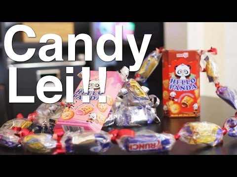 How To Make: Candy Leis!!