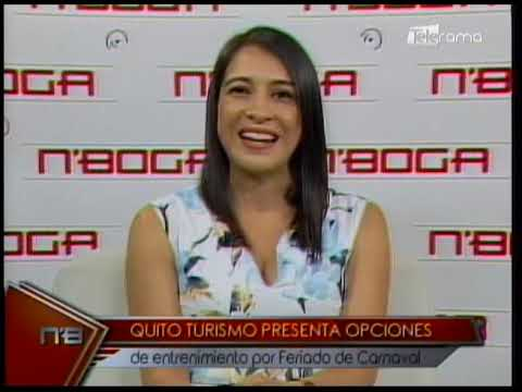 Quito Turismo presenta opciones de entretenimiento por feriado de carnaval