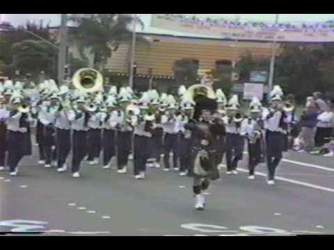 89-90 Foothill Band (1989 Cupertino Review Parade)