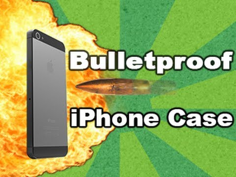 case - Bulletproof iPhone case STOPS 50 cal bullet! Tech Assassin - RatedRR - 50 cal iPhone CLICK HERE to Subscribe: http://www.youtube.com/subscription_center?add_...