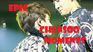 Download Video EXO EPIC CHANSOO Moments CHANYEOL touches DO KYUNGSOO BUTT MP3 3GP MP4