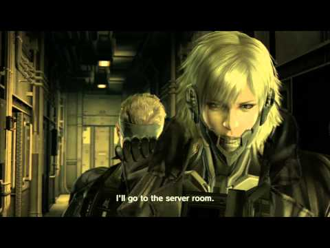 METAL GEAR SOLID 4 - Raiden's Return (CUTSCENE)