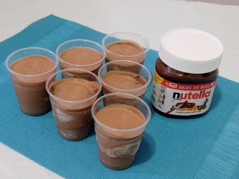 How To Make Nutella Limbes (Icy Cups)recipe| Episode 240