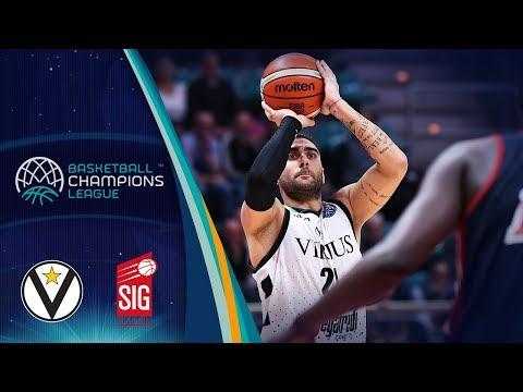 Virtus, gli highlights del match contro il Sig Strasbourg