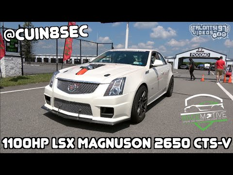 CUIN8SEC's 1100HP CTS-V Crushes The Sedan Class At Race Motive | 172mph 4 Door |