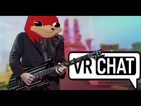 Playing Guitar on VRChat – The Greatest Game Ever Made