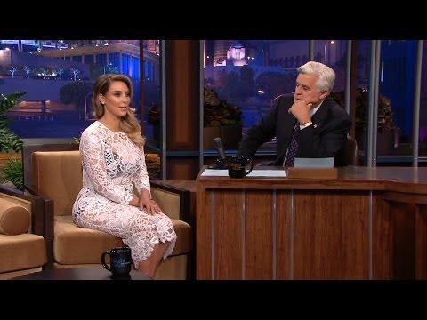 Kim Kardashian Talks Sexy Selfies On Tonight Show with Jay Leno