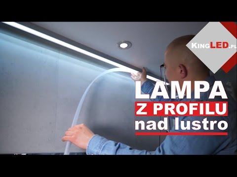 Profil aluminiowy ILEDO - robimy z niego lampę nad lustro