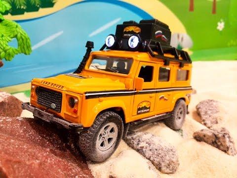 Мультфильмы про машинки. Мультик про спасательную машинку – приключение в горах. Мультики для детей