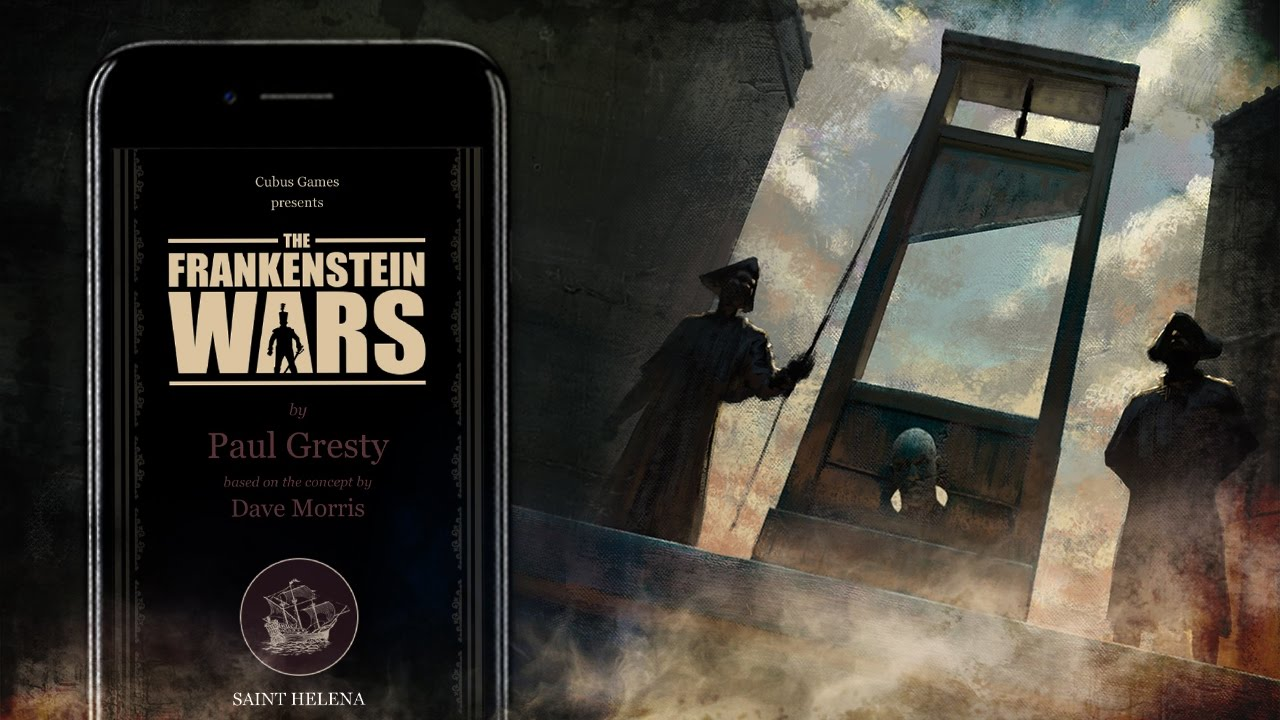 photo image 'The Frankenstein Wars' Is an Awesome Looking Upcoming Gamebook